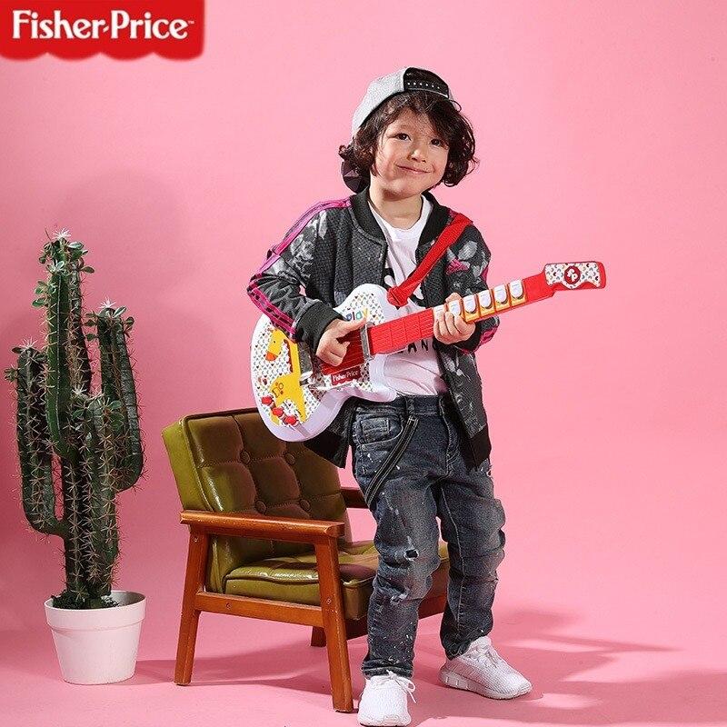 fisher price instrumento musical eletrico multifuncional violao baixo brinquedo para