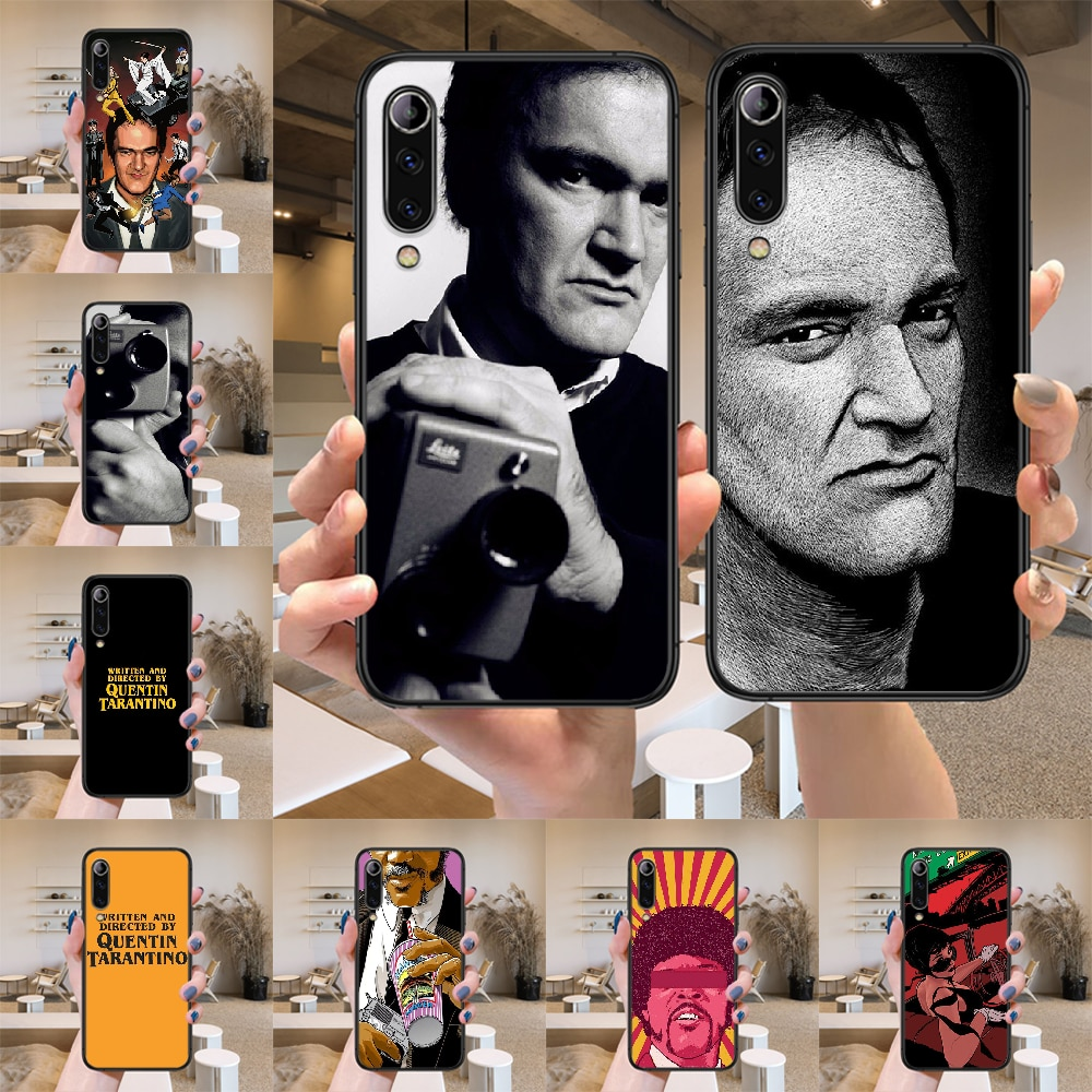 written-directed-quentin-tarantino-phone-case-for-xiaomi-mi-max-note-3-a2-a3-8-9-9t-10-lite-pro-ultra-black-silicone-shell-trend