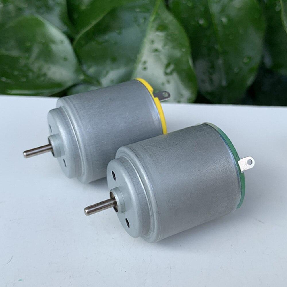 Micro Mini 260 Motor DC 3V-6V 3,7 V 25500RPM USB de alta velocidad pequeño ventilador eléctrico Control remoto coche de juguete barco modelo herramientas de maquinaria