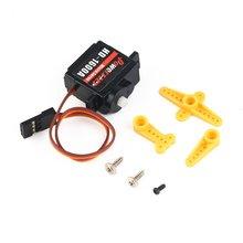 4pcs Power HD 1600A Micro Mini 1.3kg Steering Analog Plastic Gear Servo High Torque for RC Car Robot Airplane Drone DIY hz