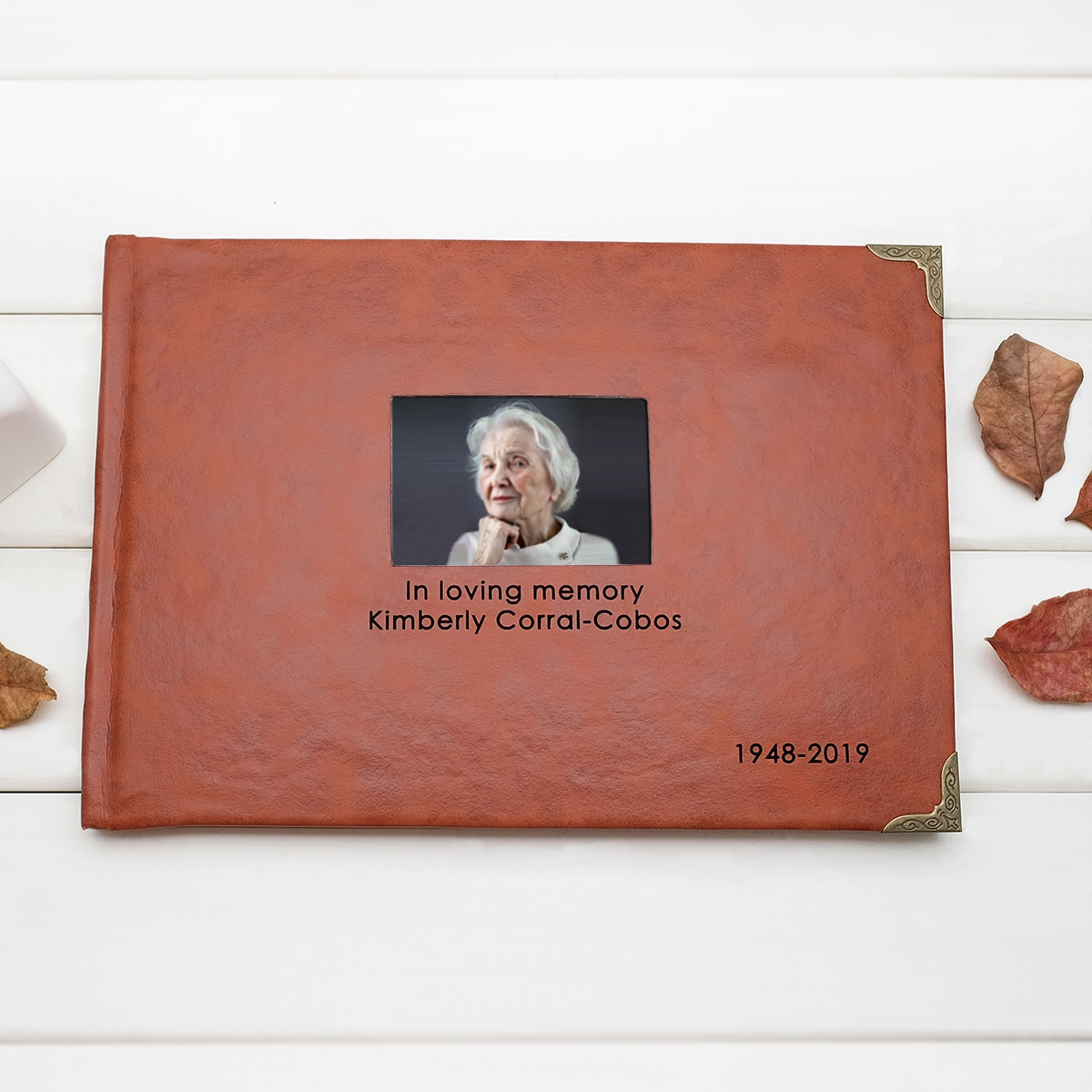 Фото - Персонализированная книга для фотографий, книга для похорон, книга для воспоминания, книга для влюбленных воспоминаний, пользовательская к... книга