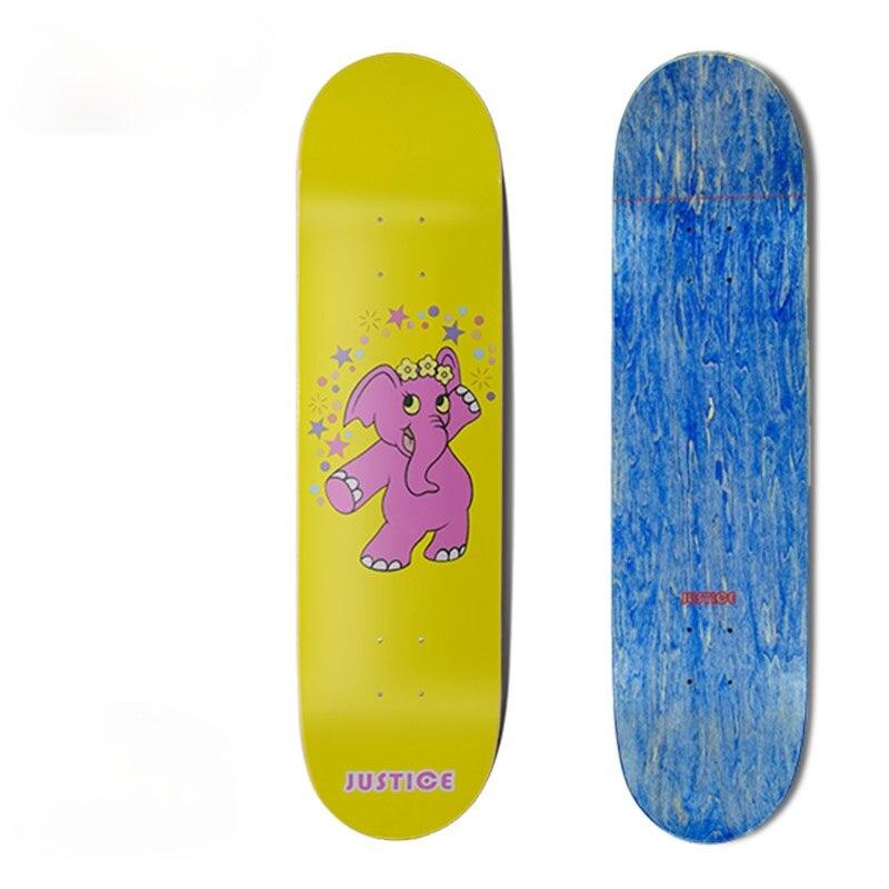 Professional Street Beginner Skateboard Fashion Complete Action Skate Board Land Surfboard Gyroroue Fitness Equipment BI50SB