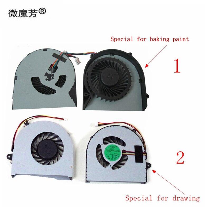 New cpu Laptop cooling fan para lenovo G480 G480A G480M G485 G580 G585 4 pinos Cpu Cooler Notebook Computador AB07005HX12DB00
