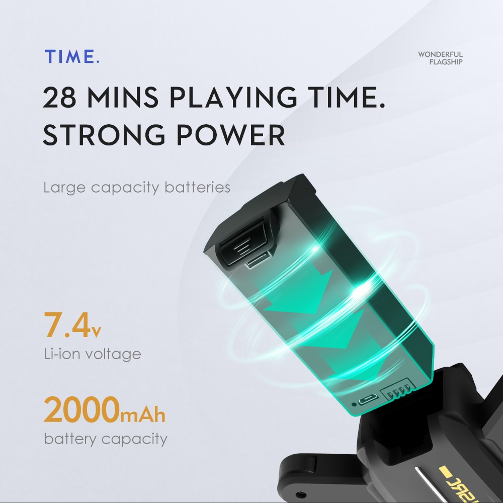 2021 New LS-38 Drone 5G WiFi 6K HD Dual IES camera switching function GPS RC brushless motor Quadcopter Control distance max 1km enlarge