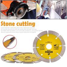 Disco de corte Circular seco o húmedo borde continuo sierra de diamante rueda de disco hoja de corte de piedra especializada para amoladoras angulares