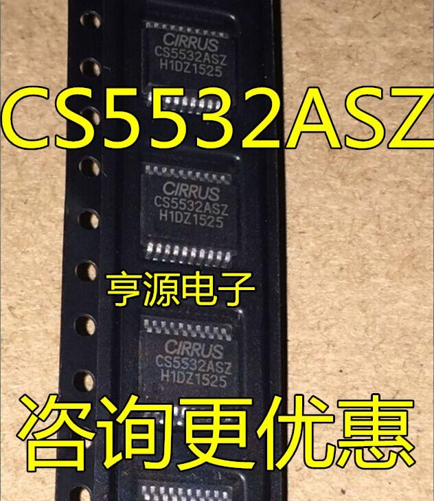 1 unids/lote CS5532-ASZ CS5532ASZ CS5532AS CS5532, TSSOP-20, nuevo en stock