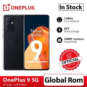 OnePlus – Smartphone OnePlus 9 5G, Rom Global, Snapdragon 888, 8 go 128 go, 6.5 pouces, fluide AMOLED, caméra 120Hz, boutique officielle; code:AETECH21411($100-10)