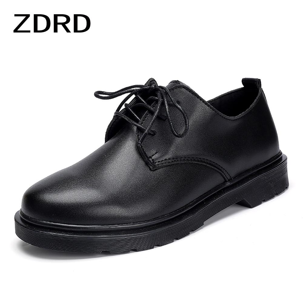 Spring Autumn Luxury Dress Shoes Men Large Size Men Oxfords Daily Office Business Shoes Black White