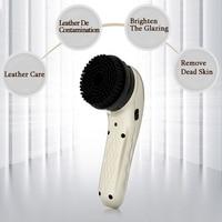710A Electric Shoe Polisher Charging Multi-function Leather Shoe Washing Machine Handheld Leather Care Shoe Polisher