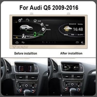 car gps multimedia player auto gps navigation for audi q5 2009 2016 android system stereo video fm player