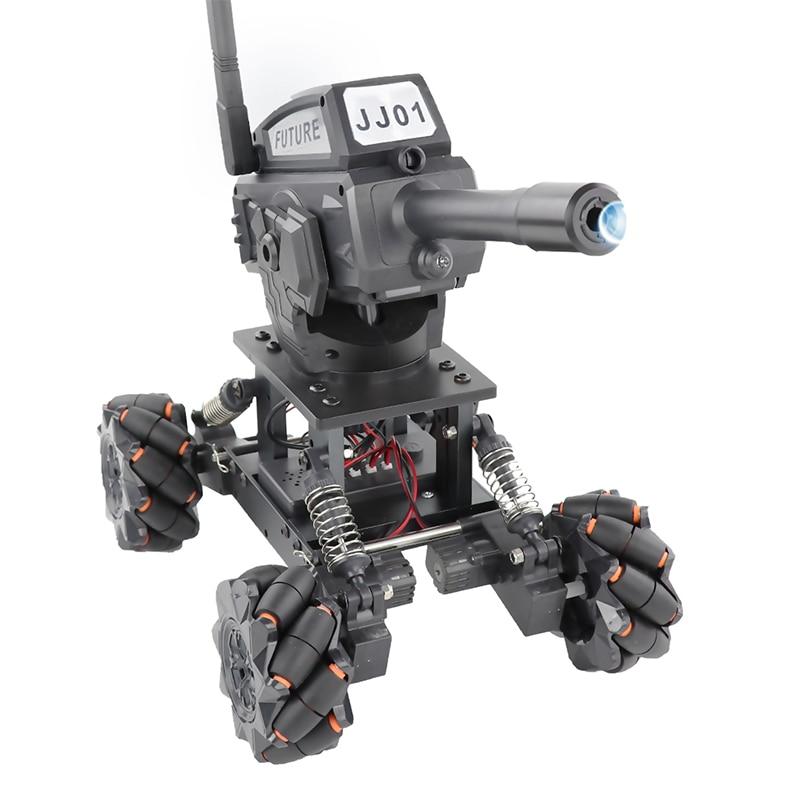 RC Tank Water Bomb Firing Gun Remote Radio Control Toy Alloy Remote Control Tank DIY Programming  Off-road Climbing 50m Remote enlarge