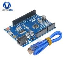 Carte UNO R3 CH340G CH340 G MEGA328P ATMEGA328, Compatible avec Micro USB avec câble, Kit de bricolage, Version Cool