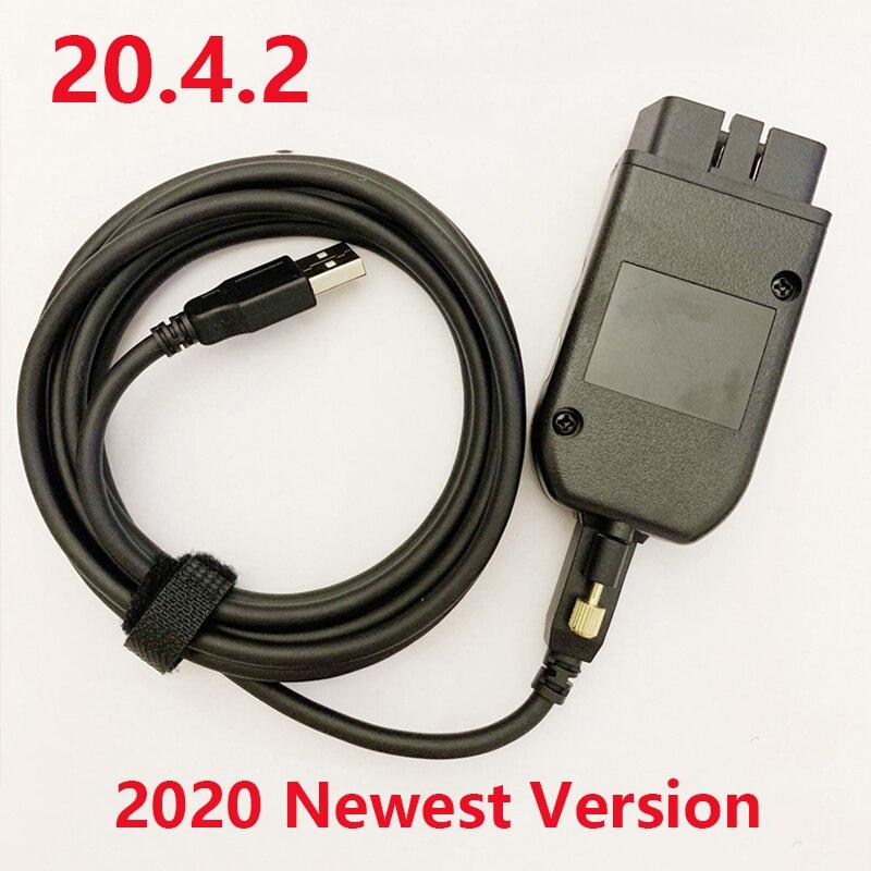 Cabo de teste principal para o carro obd2 diagnóstico cabo para kline e pode ônibus suporte até 2019 2nd interface atmega162 + 16v8b + ft232rq (l)