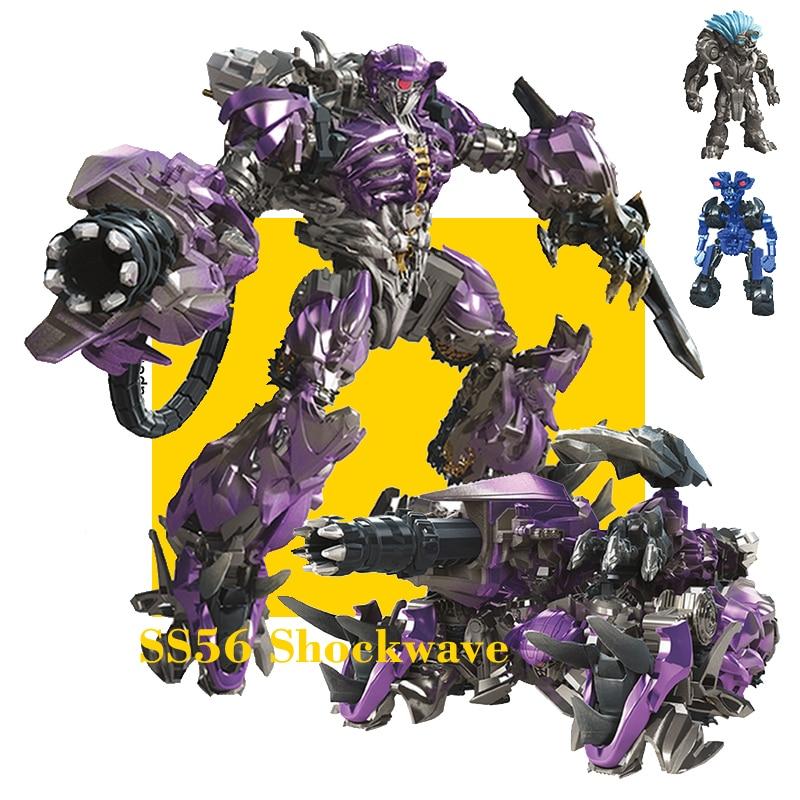 Transformation TKR Leader Class Studio Series SS56 Shockwave Action Figure Deformation Robot Transformation Model Toy
