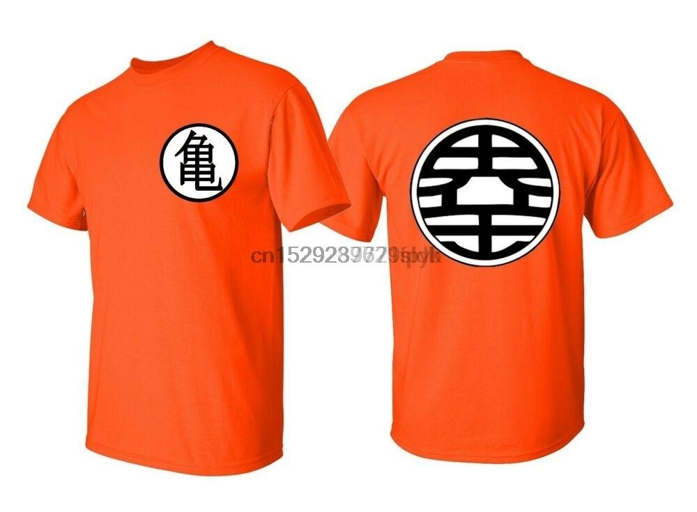 Camiseta de hombre Dragon ball Z DBZ Kame camiseta símbolo Goku Anime disfraz camisa S-5XL