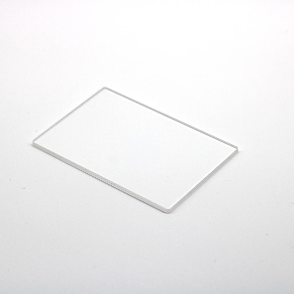 كل حجم 5 قطعة 1 مللي متر سمك حجم 16.9x14.9x1 مللي متر و 22.55x17.55x1 مللي متر مع حماية حواف شقة الياقوت زجاج النافذة