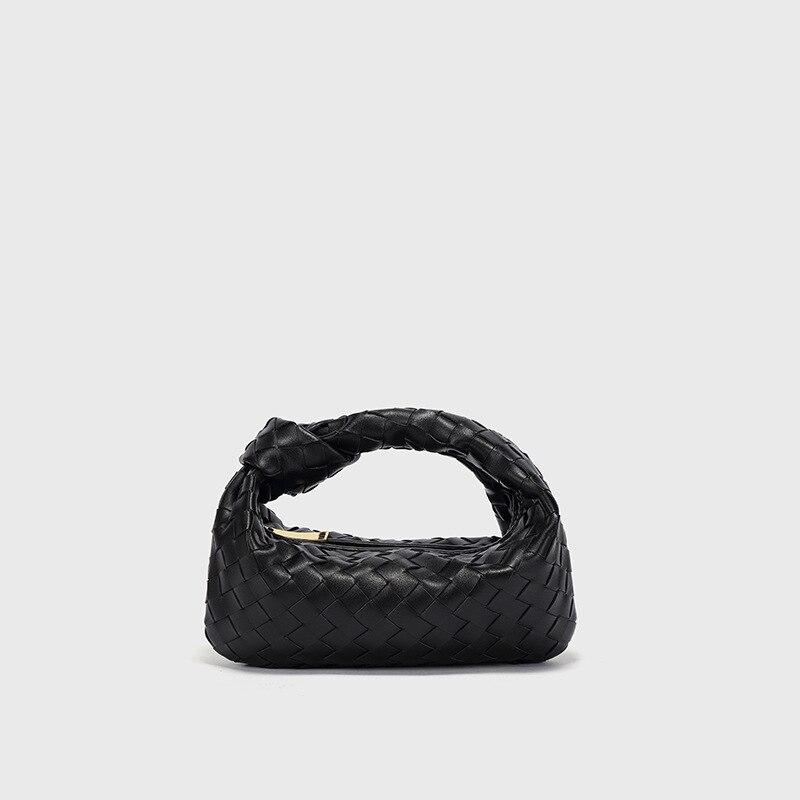حقيبة يد نسائية من جلد الغنم ، حقيبة كتف فاخرة ، بسيطة وبرية ، جلد ناعم ، محمولة ، 2021