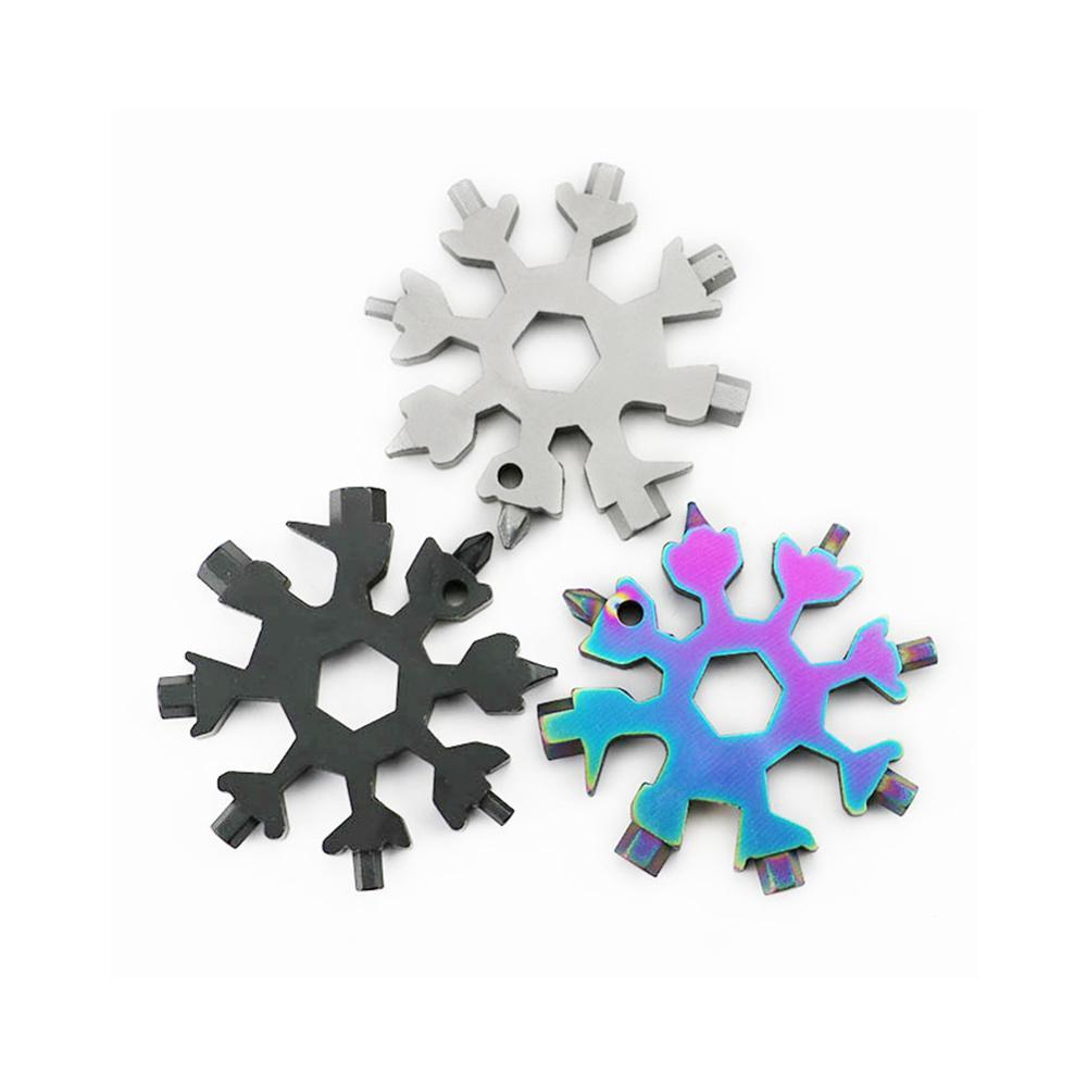18 в 1 инструмент для снежинок карточка комбинация многофункциональная Снежинка отвертка Снежинка гаечный ключ инструмент Снежинка инструм...