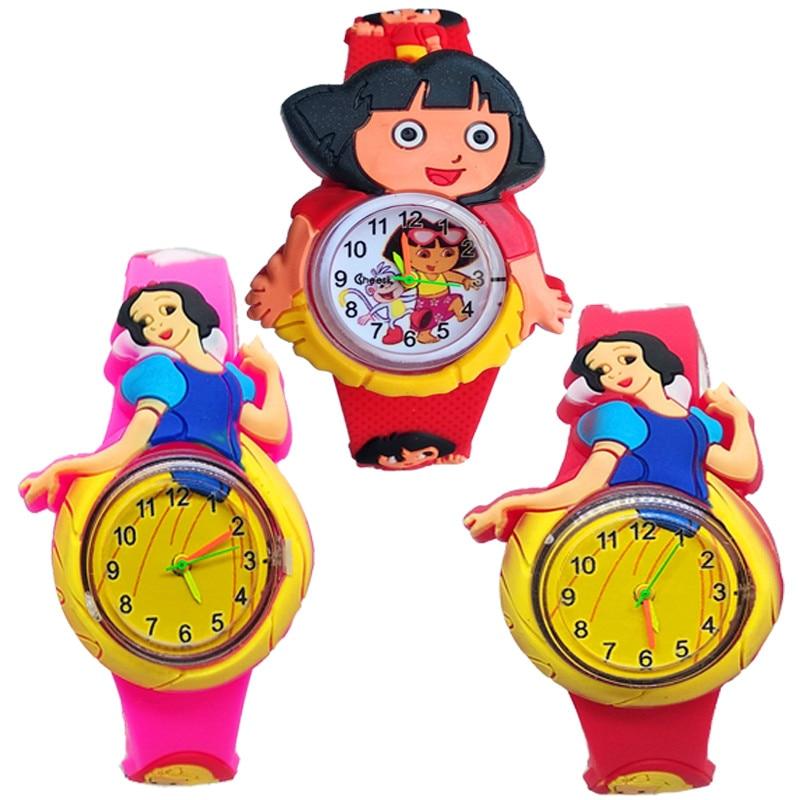м мадера долина эдельвейсов и день рождения принцессы Часы Детские кварцевые с силиконовым ремешком, Мультяшные персонажи принцессы для девочек, подарок на день рождения и Рождество