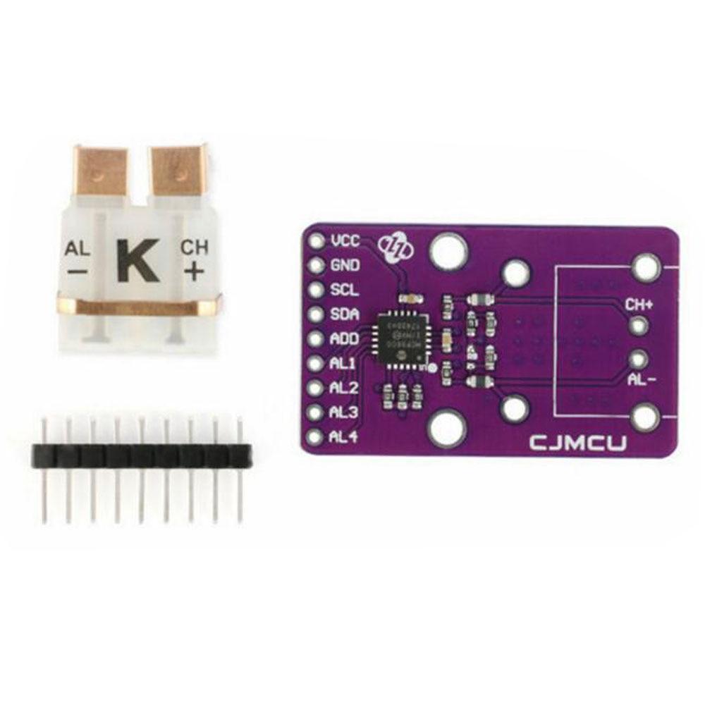 تكلفة CJMCU-96 MCP9600 K-نوع الحرارية I2C محول المدخلات التفاضلية يدعم ثمانية أنواع من IIC