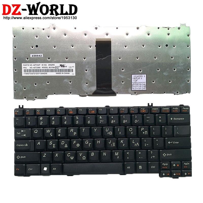 Nova Grécia teclado Do Portátil para Lenovo 3000 C100 C200 F31 F41 G420 G430 G450 G530 A4R N100 N200 Y430 C460 C466 C510 42T3360