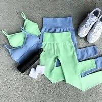 seamless sport set women 4pcs crop top t shirt bra leggings sport shorts yoga sportsuit workout active outfit fitness gym sets