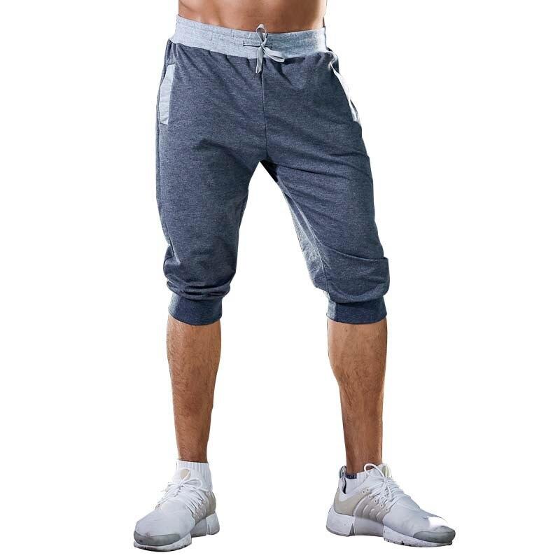 Новинка весна-осень 2021, мужские брюки, повседневные Модные Спортивные укороченные брюки для бега, уличная одежда, мужская одежда, джоггеры