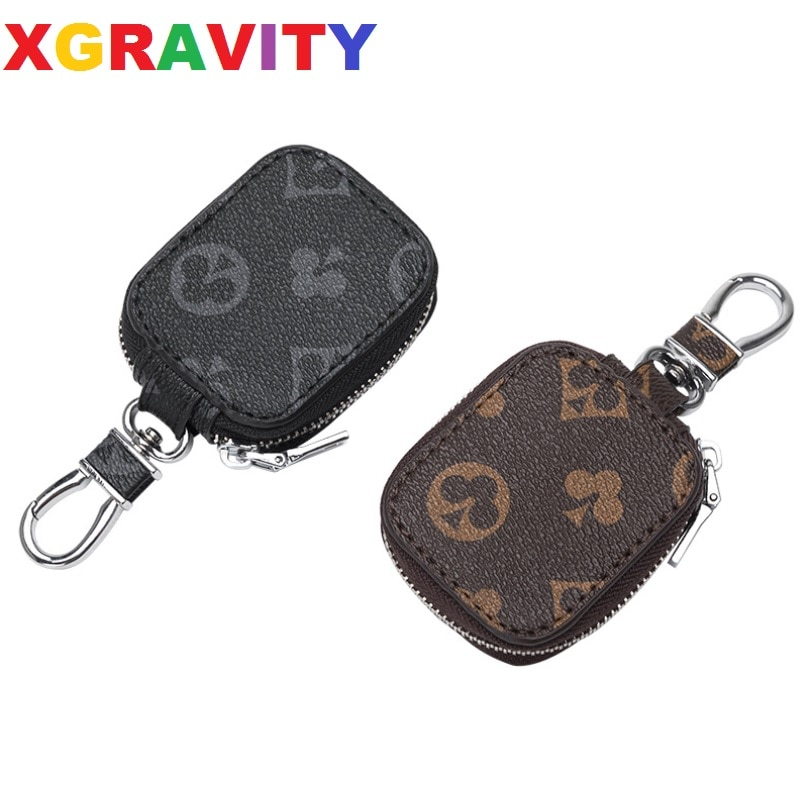 AliExpress - Luxury Brand Hot Car Key Case New Men's And Women's Large-Capacity Multifunctional Practical Leisure Waist Zipper Key Protection