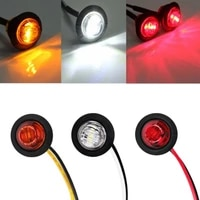 round led truck side clearence lights car bus trailer safety driving side marker high brightness indicators light warning lamp