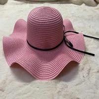 beach hats women large straw hat big brim sun cap uv protection foldable roll up floppy caps feminino