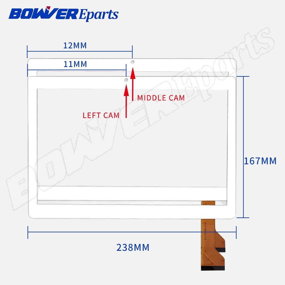 For 10.1'' inch CH-10114A5 J-S10 BH4838 ZS  CH-10114A5 J-S10  2.5D Touch Screen Panel Digitizer Sensor Replacement  Multitouch