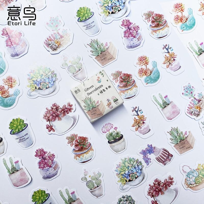 pegatinas-de-varias-formas-para-plantas-serie-de-flores-verdes-en-maceta-suculentas-calcomanias-para-diario-de-balas-decoracion-artesanal-album-de-recortes-45-uds