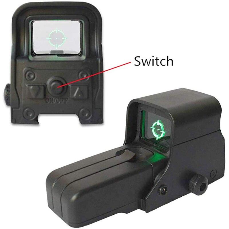 Ponto verde paintball airsoft armas arma de brinquedo mira ponto vista verde ponto glock água ponto série rifle scope brinquedo melhorar a precisão
