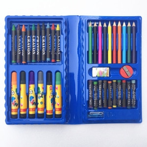 42-piece watercolor pen set crayons children's toys gifts student stationery art painting learning brushes
