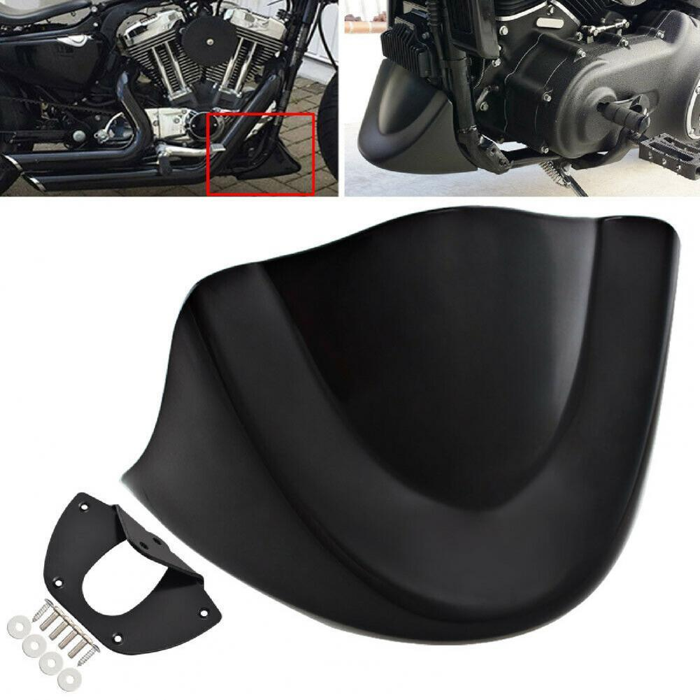 Portable Durable Matte Black Front Spoiler Lower Chin Fairing Reliable Engine Cover for FXDL FXD FXDB 06-17 Motorcycle Parts