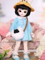 16 scale bjd doll cute kid sweet girl bjdsd resin figure doll model toy gift full set with clothesshoeswig a0099miyo yosd