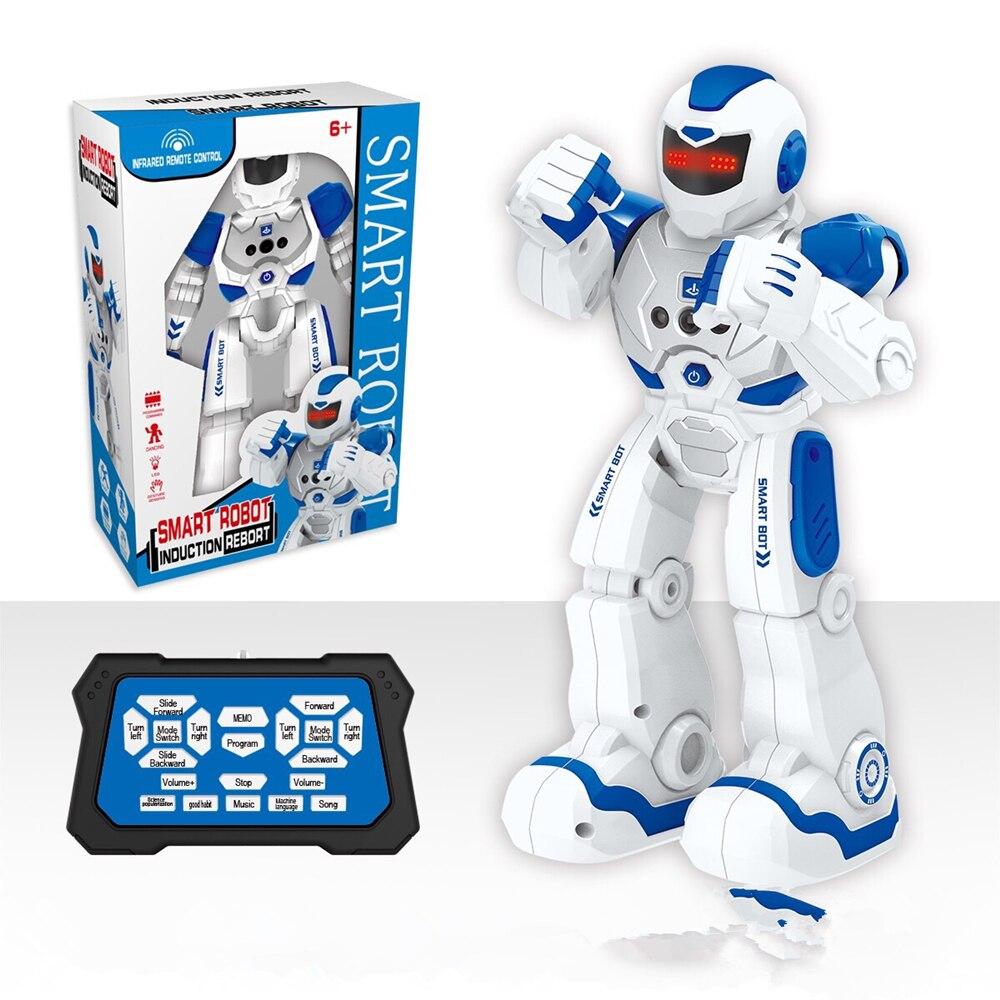 جهاز روبوت للتحكم عن بعد العمل الذكية المشي الغناء الرقص عمل الشكل لفتة الاستشعار اللعب هدية للأطفال الاشياء باردة الروبوت الذكية