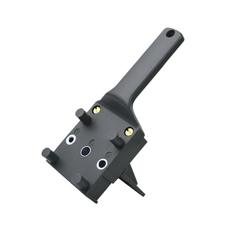 Punch Locator Drill Guide Jig Carpentry Woodworking Tool Drilling Dowelling Hole for Installation of Handles Knobs on Doors  - buy with discount