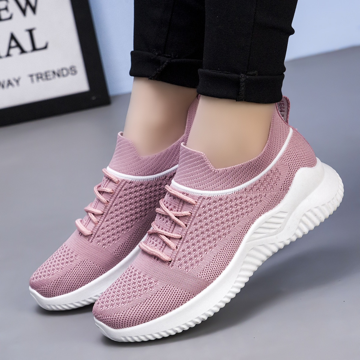 New Casual Sneakers Boys Slip on Sports Shoes Children Running Kids Trend Walking Outdoor Soft Botto