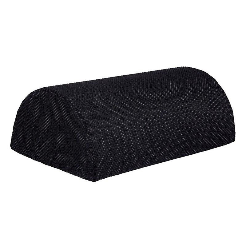 Gran oferta de cojín para los pies ergonómico, soporte para reposapiés, taburete para pies de escritorio, almohada de espuma para masaje de reposapiés