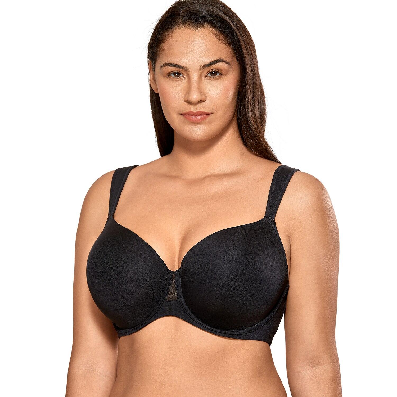 المرأة سلس اصطف بخفة الراحة حزام Underwire كونتور الصدرية حجم كبير
