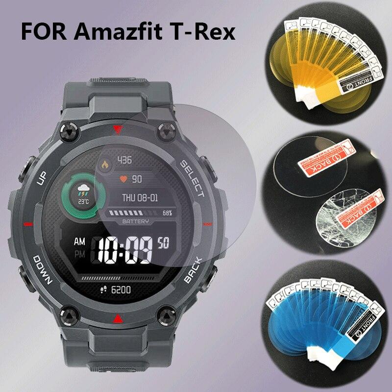 Protector de pantalla para reloj inteligente Huami Amazfit GTR t-rex cristal templado...