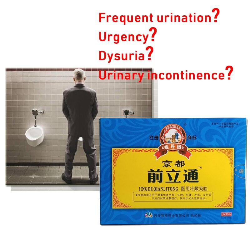 6 unids/caja Herbal prostático Gel tratamiento de la Prostatitis masaje de próstata medicina china hiperplasia hombre cuidado de la próstata salud nuevo