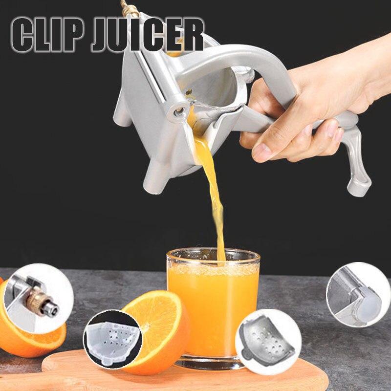عصارة يدوية عصارة ليمون عصارة فاكهة برتقالية متعددة الوظائف عصارة مريحة ومتينة