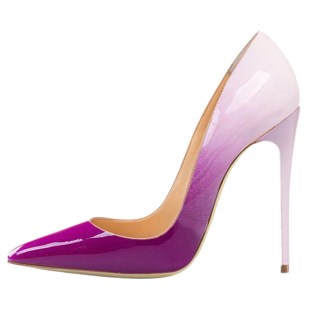 Sexy Women's Pumps High Heels Lady Shoes Party Pointed Toe Thin Heels Fashion Shallow Mixed Colors Pumps Wedding Shoe Sandalias