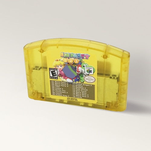 Супер 18 в 1 Mari Party 1 2 3 или Super Mari 64 Hack Sapphire Missing Stra Doki для 64-битного игрового картриджа США Версия NTSC