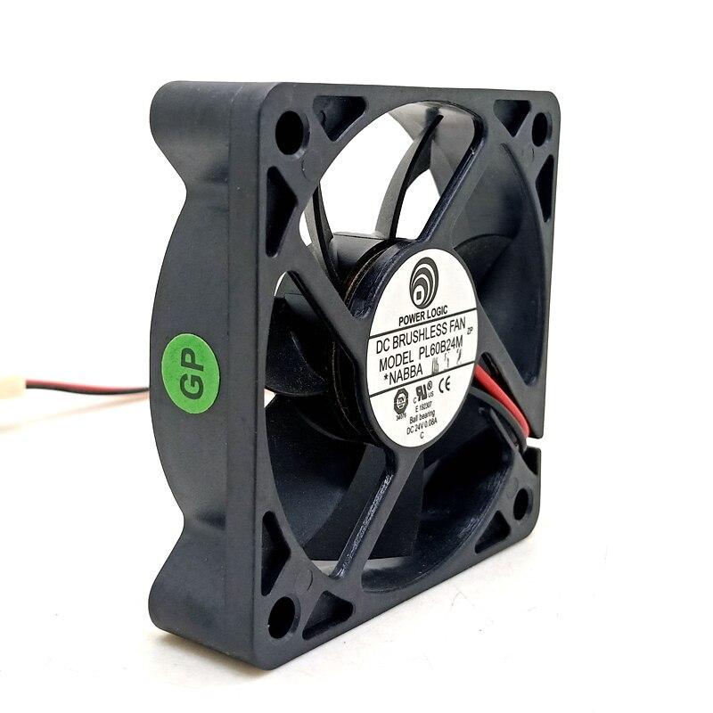 60mm fan PL60B24M 60*60*15mm 6CM 60mm 24V dc 0.08A refrigeración axial ventilador