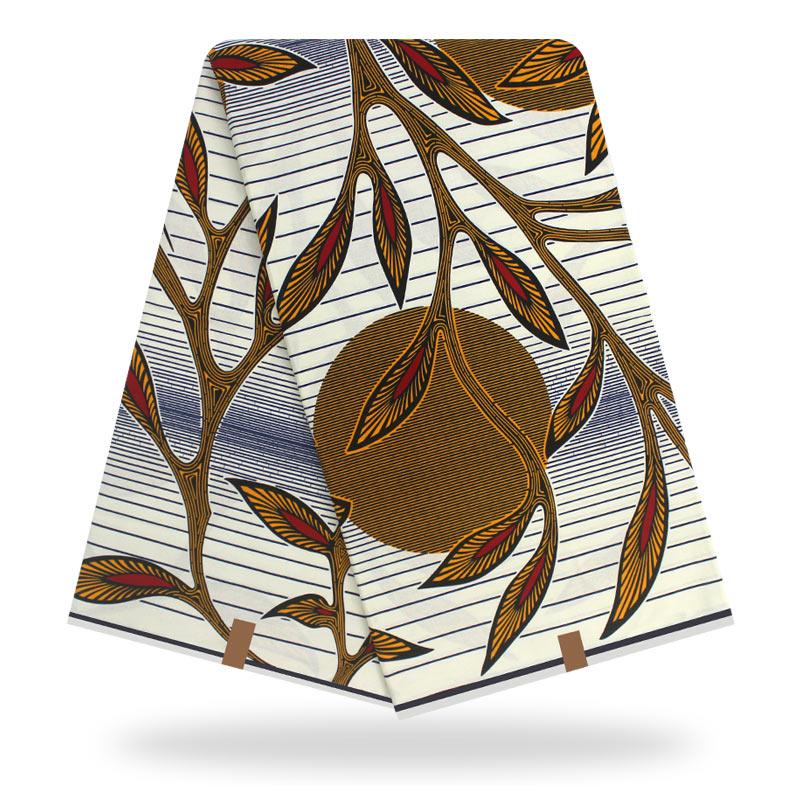 Tela de cera Africana cera real Nigeria Ankara tela de cera Africana tela de cera Fabric100 % tela de cera de algodón