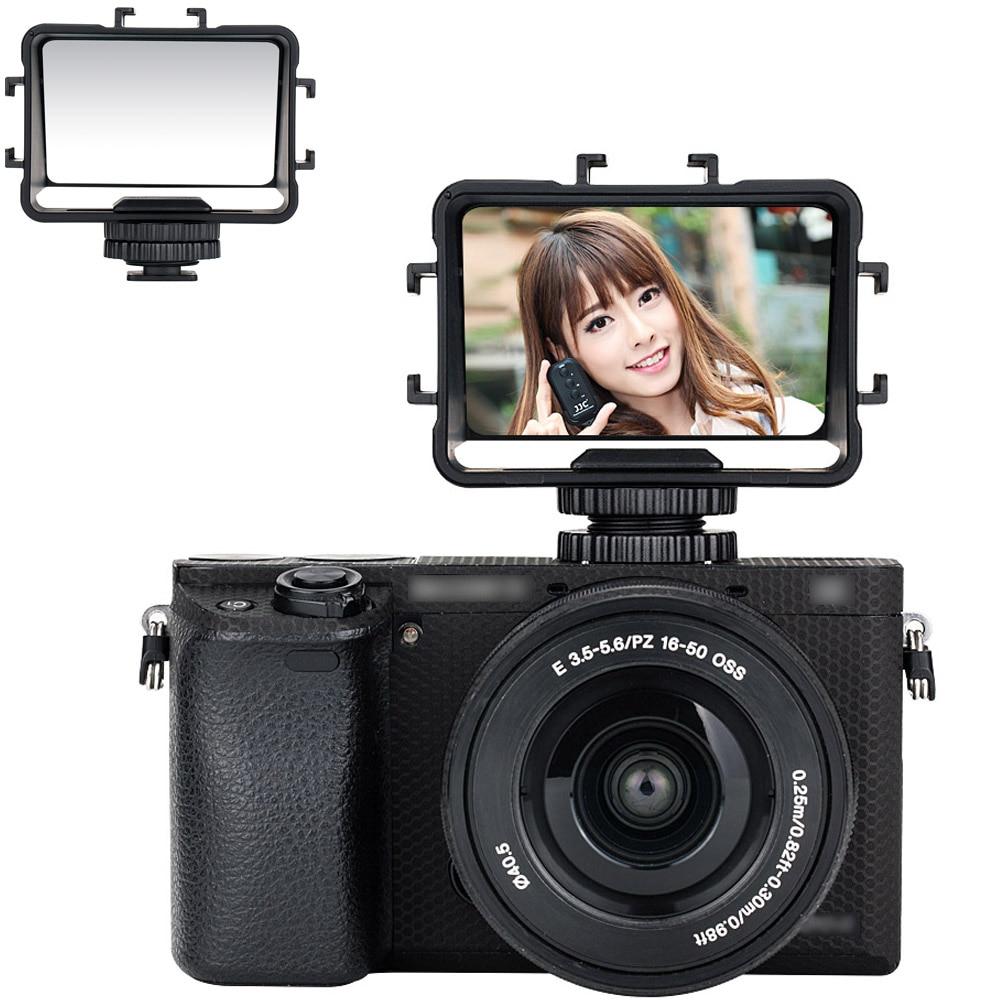 JJC камера зеркало флип экран селфи зеркало для Sony a6500 a6300 a6000 a7 II III Fuji X-T2 X-T3 XT2 XT3 X-T20 Nikon Z6 Z7