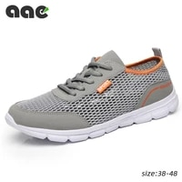 2020 lightweight mens casual shoes mesh breathable men sneakers trainers lace up tennis outdoor running shoes sapato masculino